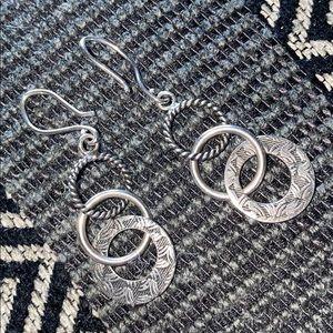 Retired Silpada Circle Earrings